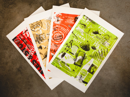 JTTC – Ben and Stef's screenprints