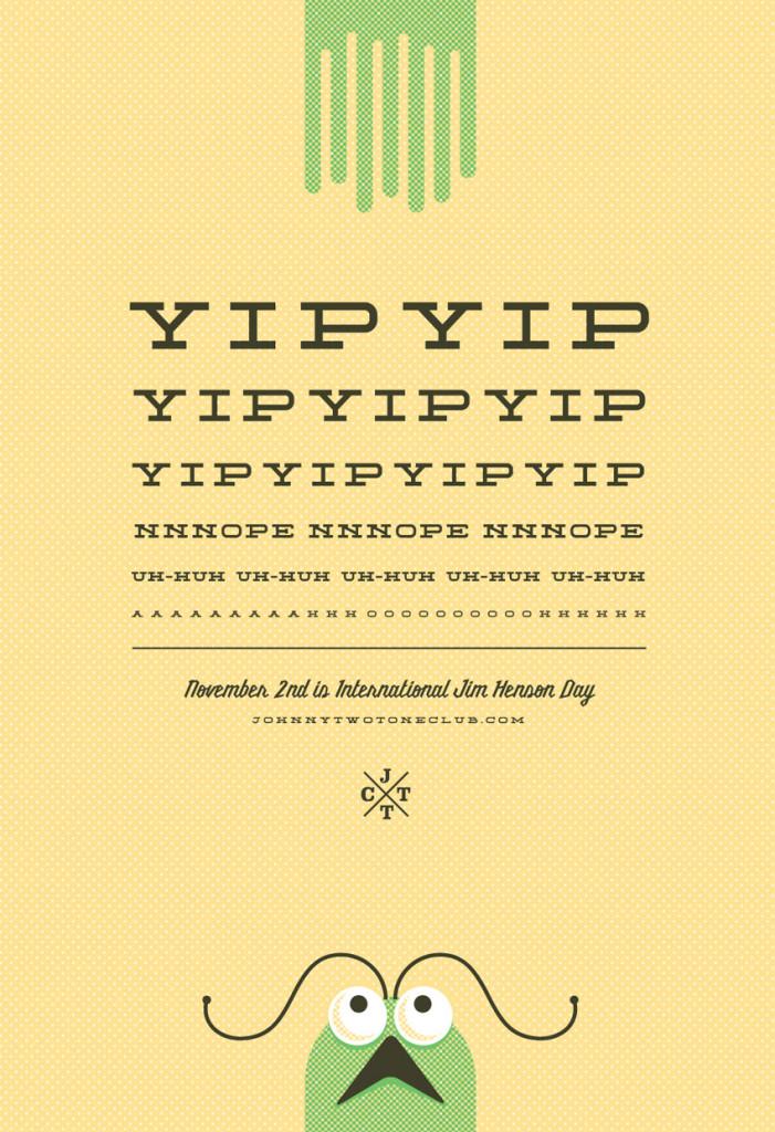 International Jim Henson Day – Yip Yip